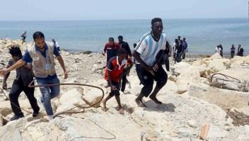 Cerca de 100 migrantes mueren en las costas de Libia