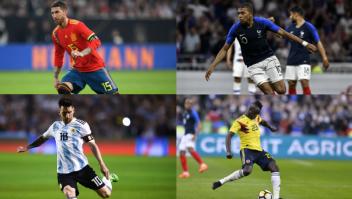 Jugadores Mundial de Fútbol 2018