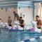 Los jugadores de Inglaterra, preparados para una carrera con flotadores de unicornio en Rusia 2018. (Crédito: Jesse Lingard/Twitter)
