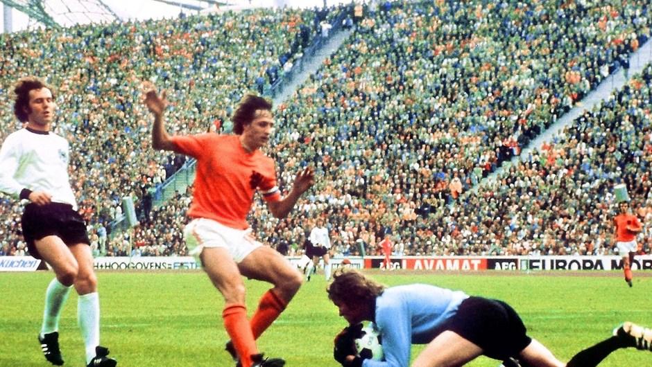 La República Federal de Alemania acogió (y ganó) la Copa Mundial de Fútbol de 1974. (Crédito: STAFF/AFP/Getty Images)