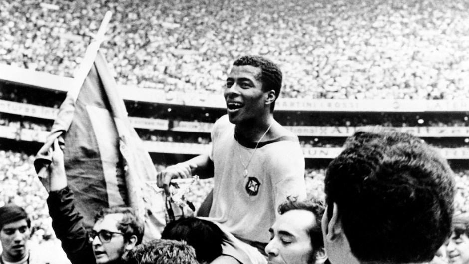 En 1970 el Mundial se celebró en México. Lo Ganó Brasil. (Crédito: STAFF/AFP/Getty Images)