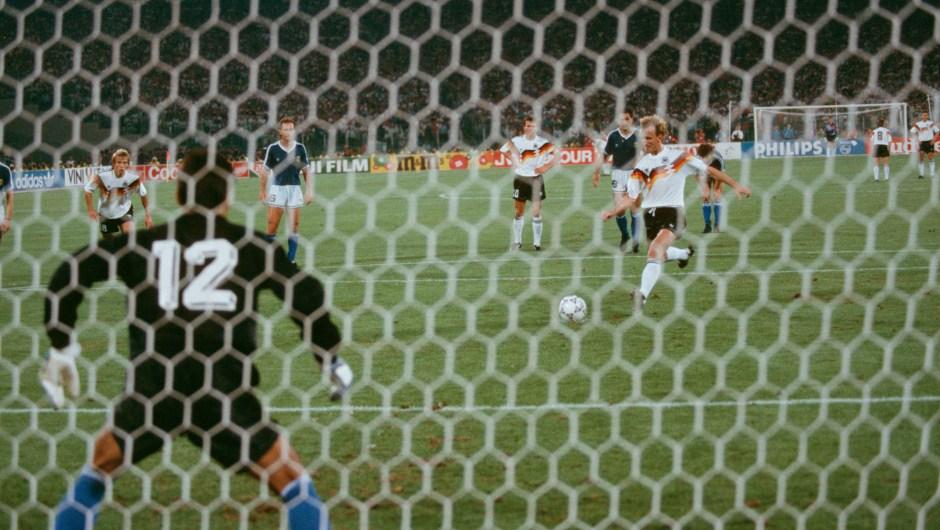 En Italia en 1990 la Copa del Mundo se la llevó Alemania en un partido disputado contra Argentina. (Crédito: Bongarts/Getty Images)