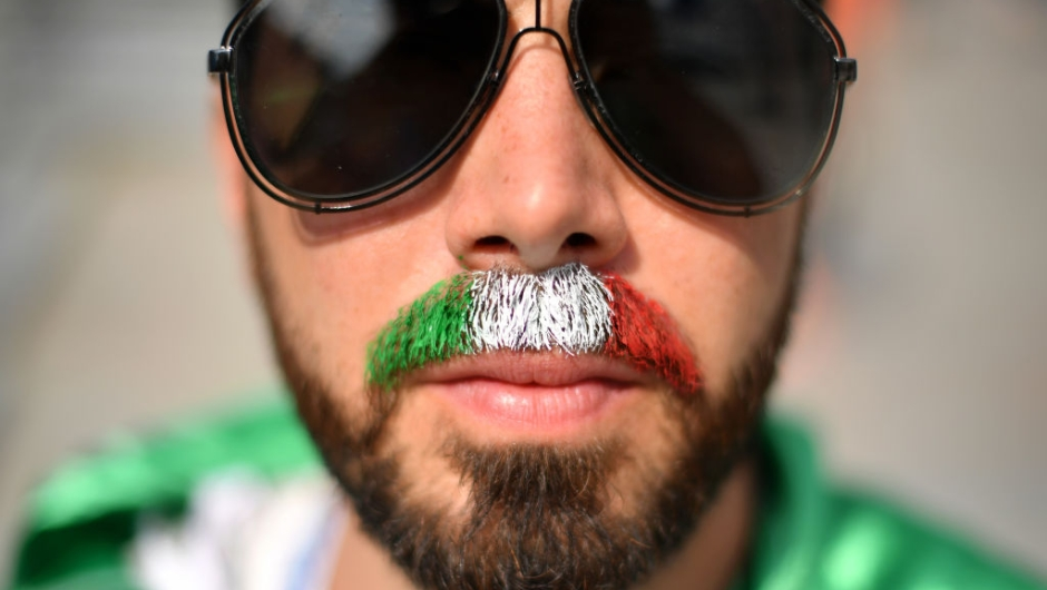 EKATERINBURG, RUSSIA - JUNE 27: A Mexico fan enjoys the pre match atmosphere prior to the 2018 FIFA World Cup Russia group F match between Mexico and Sweden at Ekaterinburg Arena on June 27, 2018 in Yekaterinburg, Russia. (Photo by Hector Vivas/Getty Images)