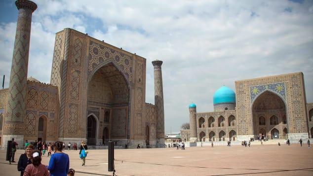 Uzbekistán, el número tres en la lista, una vez fue parte de la antigua Ruta de la Seda.