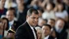 Piden a Interpol arrestar al expresidente Correa
