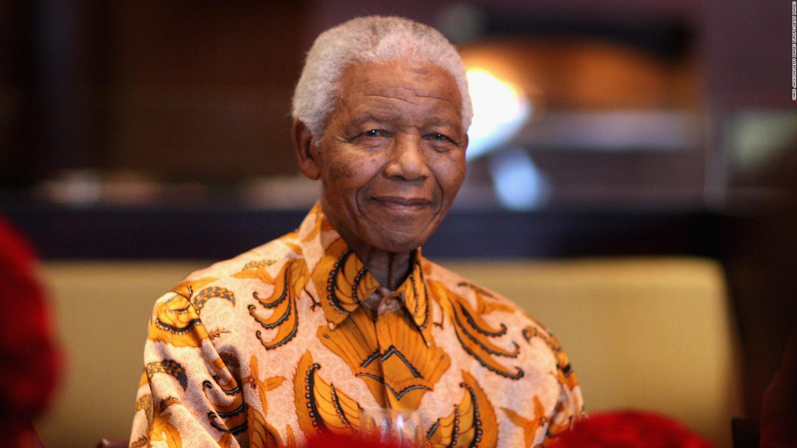 ¿Quién le dio el nombre Nelson a Mandela?