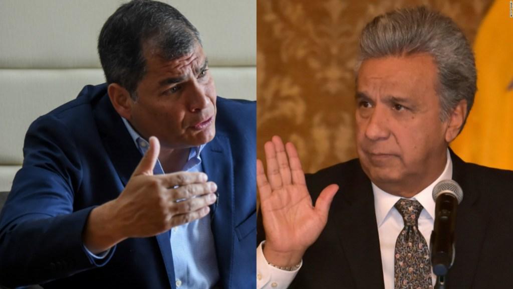 Correa dice cómo ve al presidente de Ecuador, Lenín Moreno