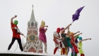 Las Pussy Riot se toman la final del Mundial 2018