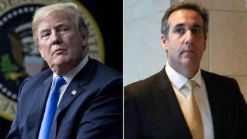 Cohen grabó a Trump hablando sobre pago a exmodelo Playboy