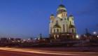 Los contrastes de Ekaterimburgo