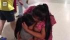 Madre e hija se reencuentran después de 61 días