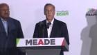 Meade reconoce su derrota en las elecciones