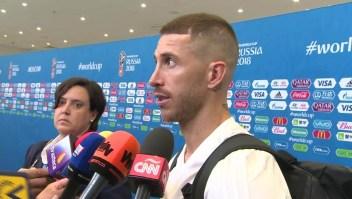 """Sergio Ramos: """"Nos vamos con la cabeza bien alta"""""""
