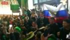 El grito mexicano que retumba en las calles de Rusia