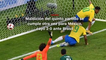 #MinutoCNN: Brasil fue verdugo de México en Rusia 2018