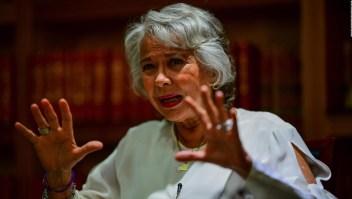 Olga Sánchez Cordero y los planes en seguridad para sexenio de AMLO
