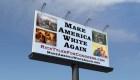 """""""Hagamos que Estados Unidos sea blanco otra vez"""", polémica campaña"""
