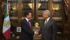 AMLO: El presidente Peña Nieto actuó con respeto