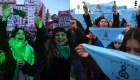¿Cuántos senadores hay a favor y en contra de la legalización del aborto en Argentina?