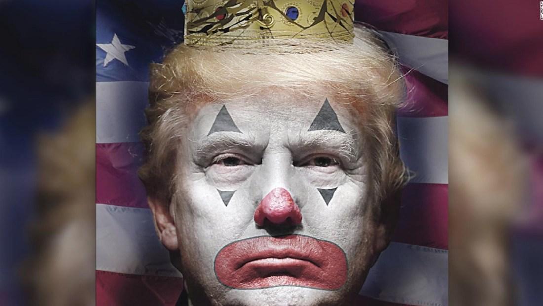 #CifraDelDía: Trump como payaso en diario en la conmemoración del 4 de julio