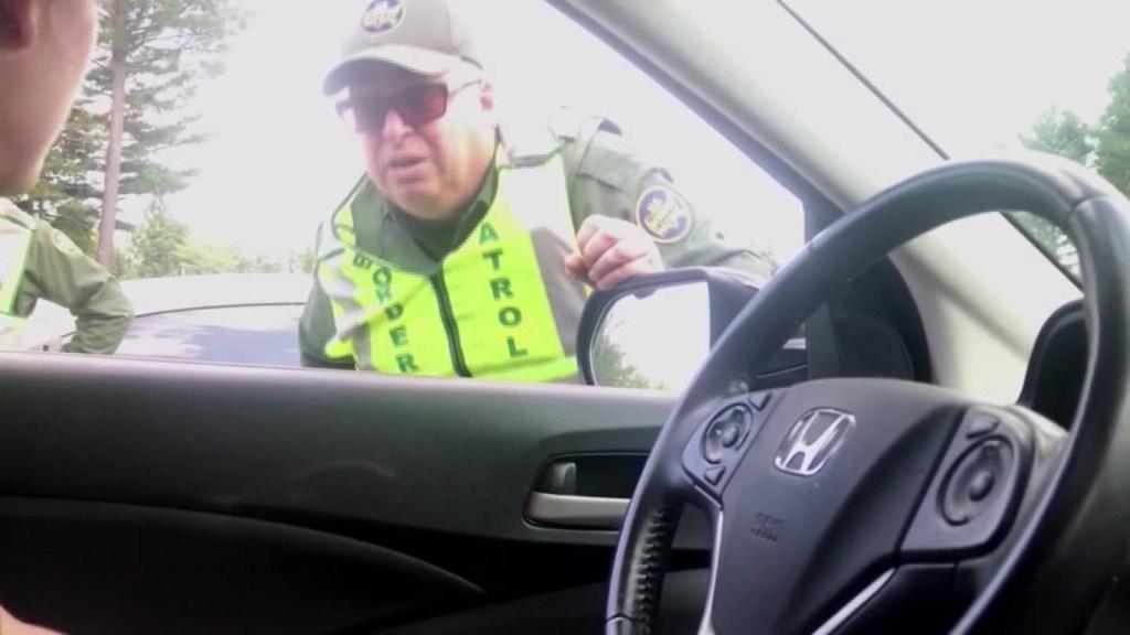 Detenciones de tráfico operadas por la patrulla fronteriza