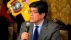 Ecuador reacciona a declaraciones de Venezuela y Bolivia