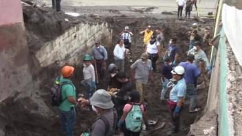 Retan cifras de desaparecidos por Volcán de Fuego