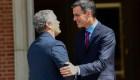 El presidente electo de Colombia, Iván Duque, hace su primer viaje oficial a España