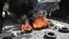 Violentas protestas por incremento del combustible en Haití