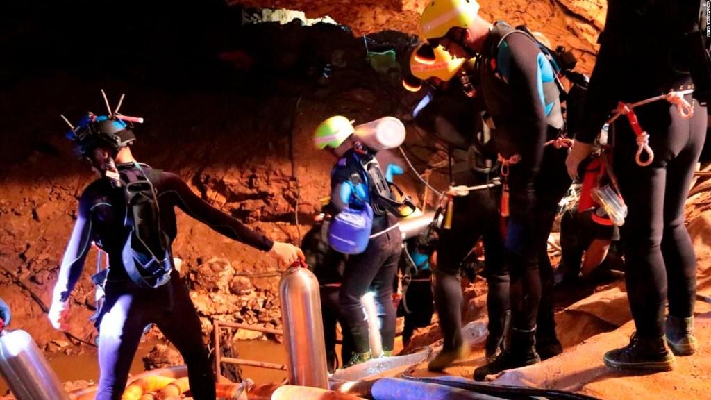 ¿Fue esta la razón del exitoso rescate en la cueva de Tailandia?
