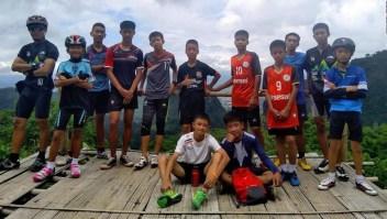 #MinutoCNN: Rescatan a los 12 niños y su entrenador atrapados en cueva en Tailandia