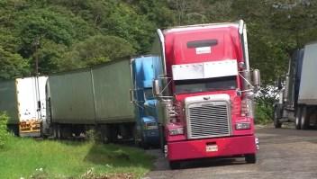 La toma de carreteras en Nicaragua impide el comercio en la frontera