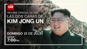 Las dos caras de Kim Jong Un