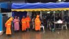 Última operación de rescate de la cueva de Tailandia