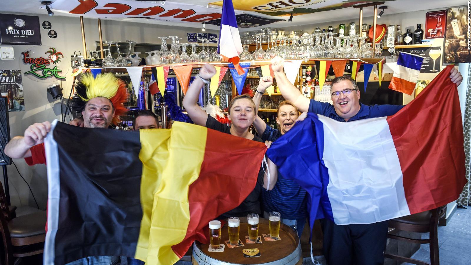 Luego de 32 años, Bélgica y Francia se enfrentan en un Mundial