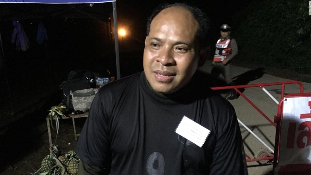 Exclusivo CNN: La reacción de un padre tras rescate en Tailandia