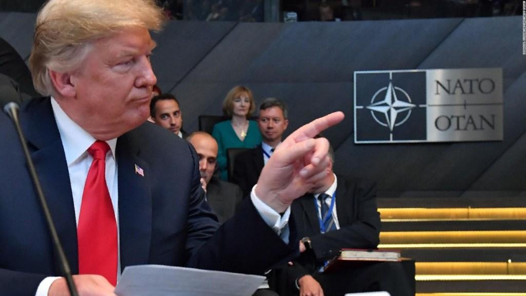 Los desacuerdos entre Donald Trump y la OTAN