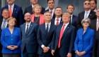 Trump llega a Bélgica con remolino de declaraciones