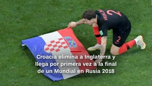 #MinutoCNN: Croacia va a la final del Mundial de Rusia 2018