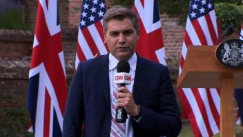 Trump se niega a responder una pregunta de CNN