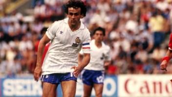 Michel Platini, el rey del fútbol francés