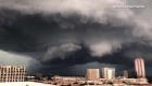 #LaImagenDelDía: una impresionante tormenta tiñó de negro el cielo de Dallas en Texas