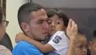 """Padre en la frontera: """"Me dijeron que nunca más lo volvería a ver"""""""