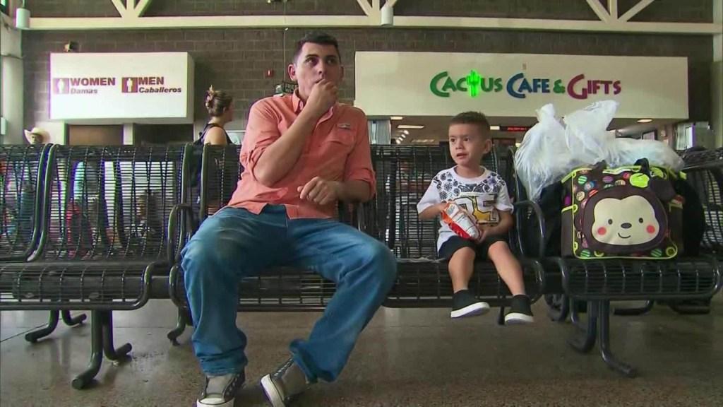 El impacto en los niños de la separación familiar en la frontera