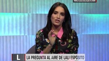 #LaPreguntaAlAire de Lali Espósito a Morales Solá