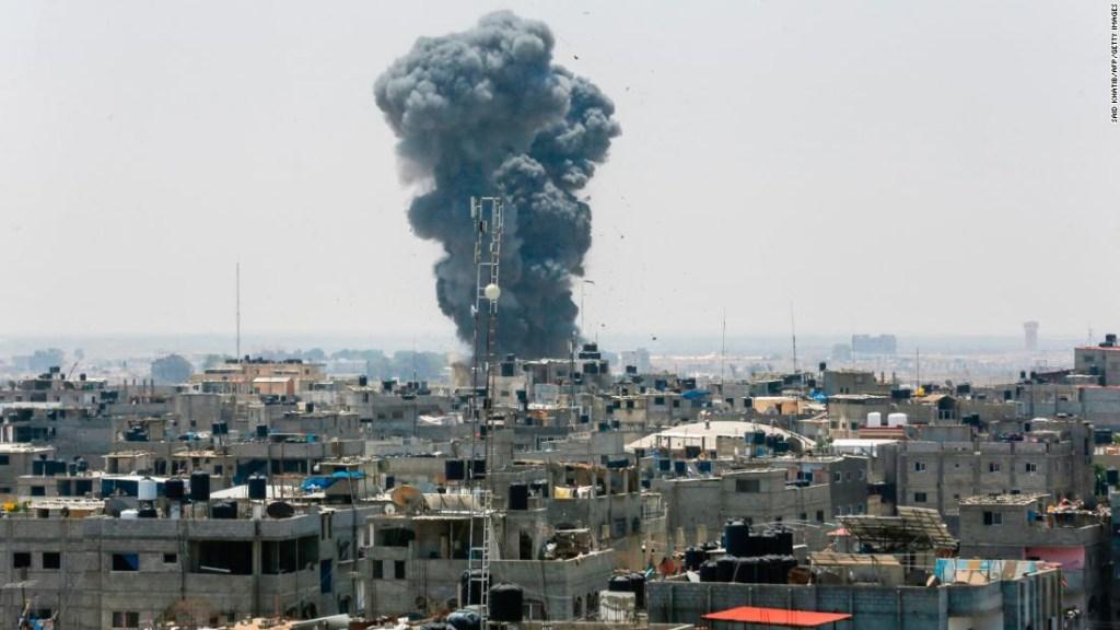 Enfrentamientos entre Gaza e Israel este fin de semana