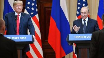 Putin y Trump niegan interferencia rusa en elecciones de EE.UU.