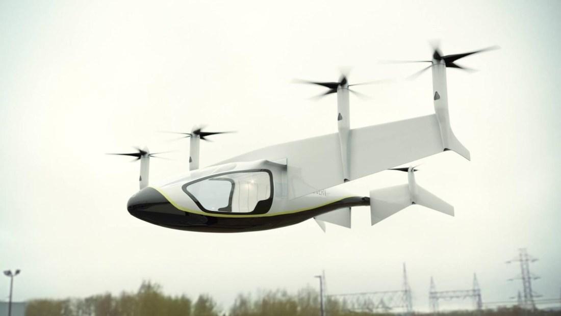 Vehículos voladores; la propuesta de Opener y Rolls Royce
