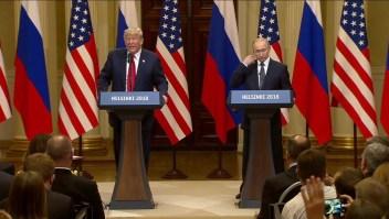 Putin niega tener material comprometedor sobre Trump