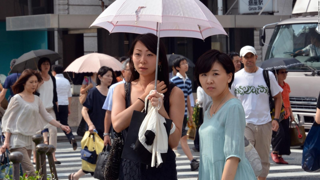 Ola de calor deja ocho fallecidos en Japón